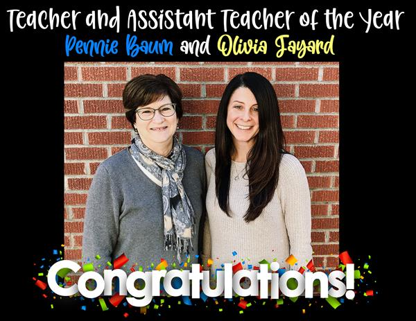 Teacher and Assistant Teacher of the Year